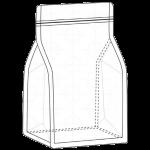Flat Bottom Box Pouch