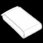 Single Web Quad Pouch